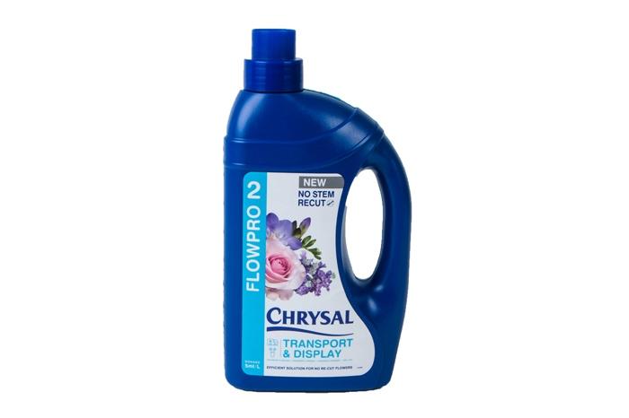 Кондиционер Chrysal FlowPro 2 для транспортировки и хранения цветов 1л
