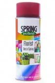 Краска-спрей для цветов 400 мл Spring Про флорист т.красный
