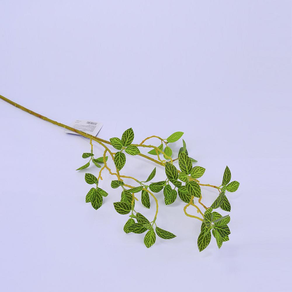 Искусственные цветы Ветка зеленая 69см ТМ240