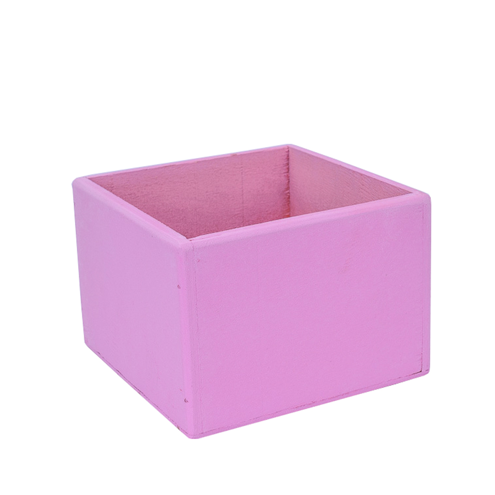 А Ящик 15*15*10 (розовый)