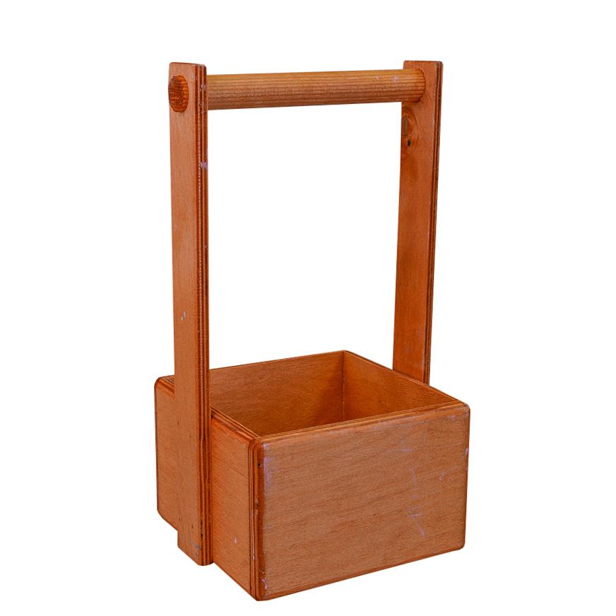 А Ящик 15*15*10 Дуб (деревянная ручка)