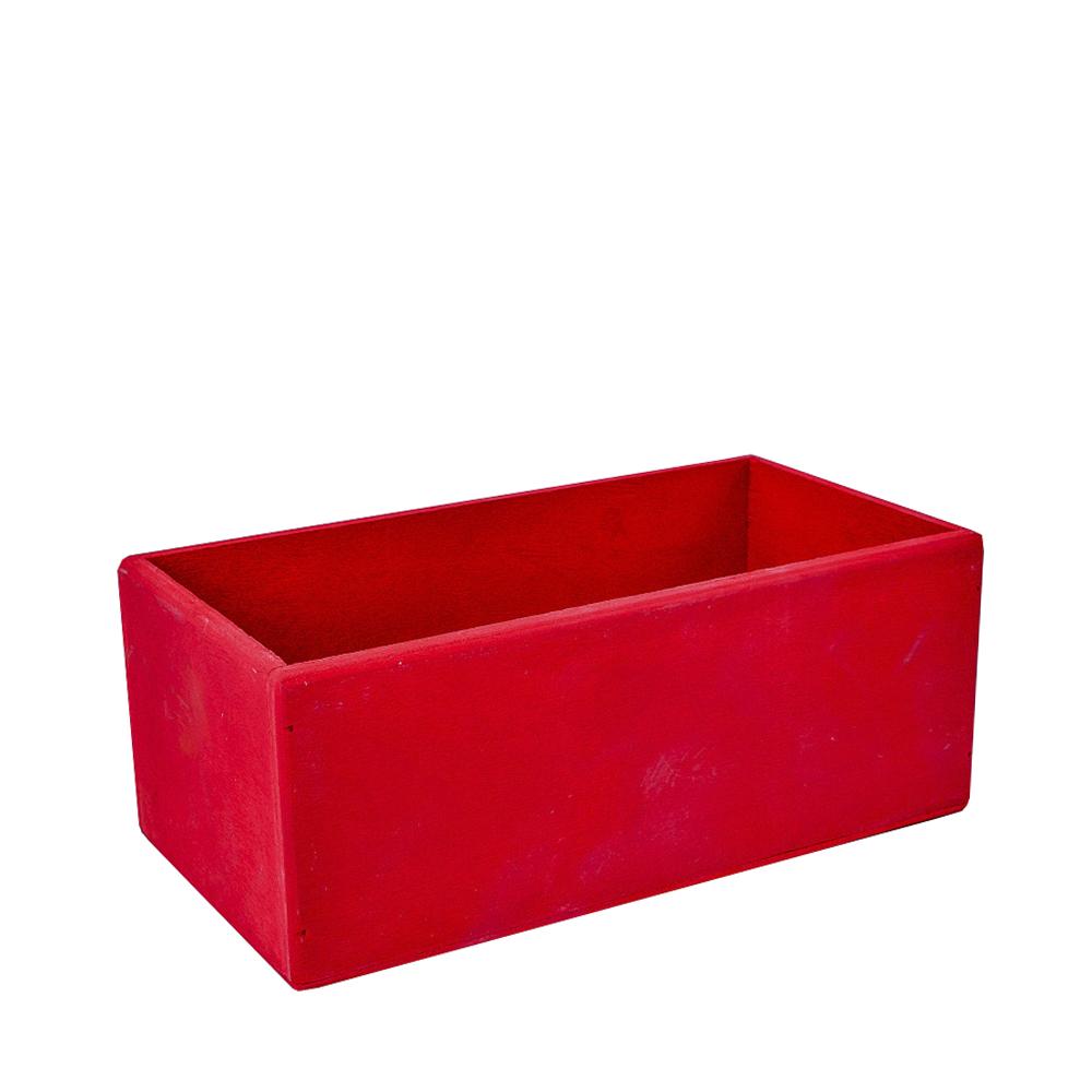 А Ящик 25*15*10 красный