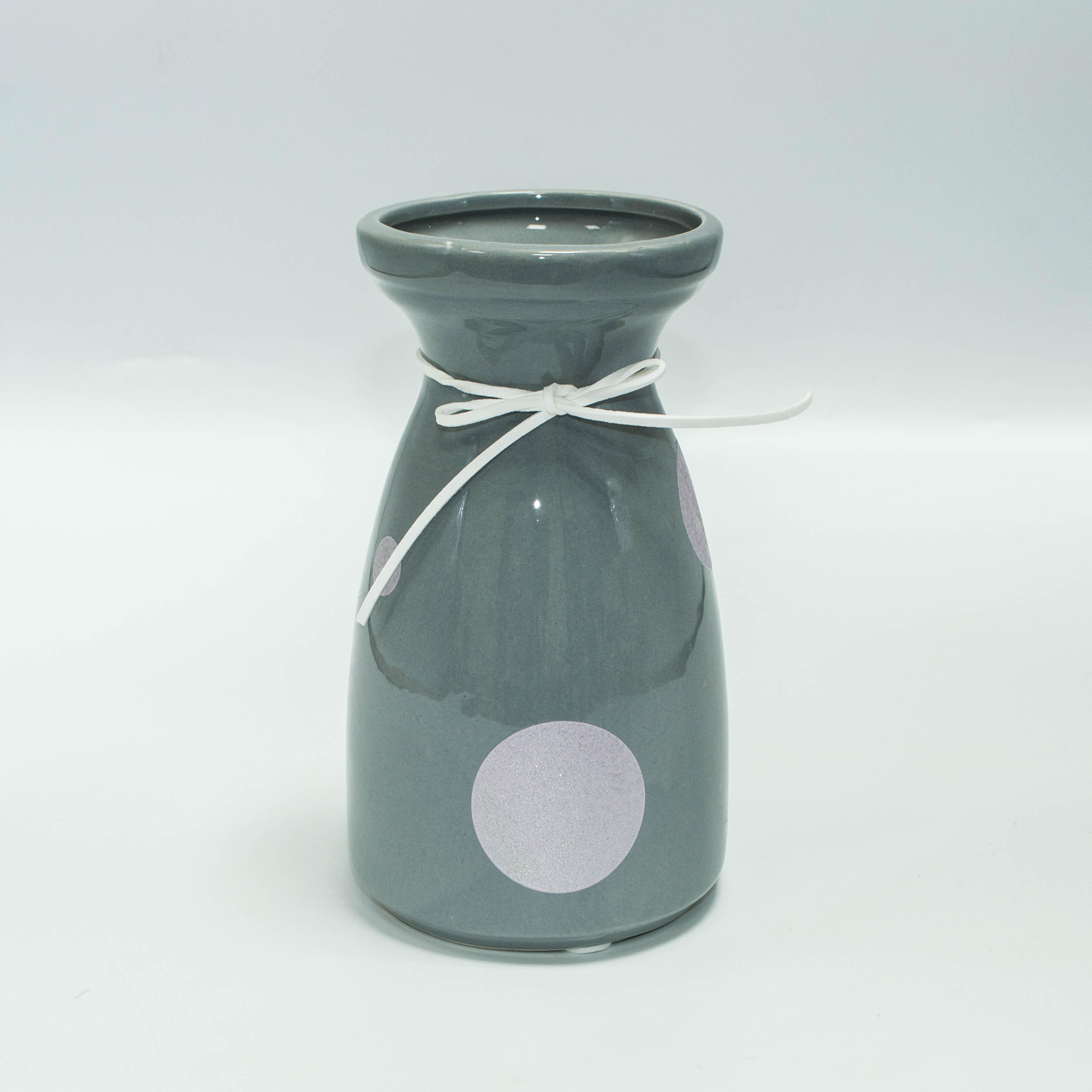 Ваза керамическая 18см 0665-2 тм36