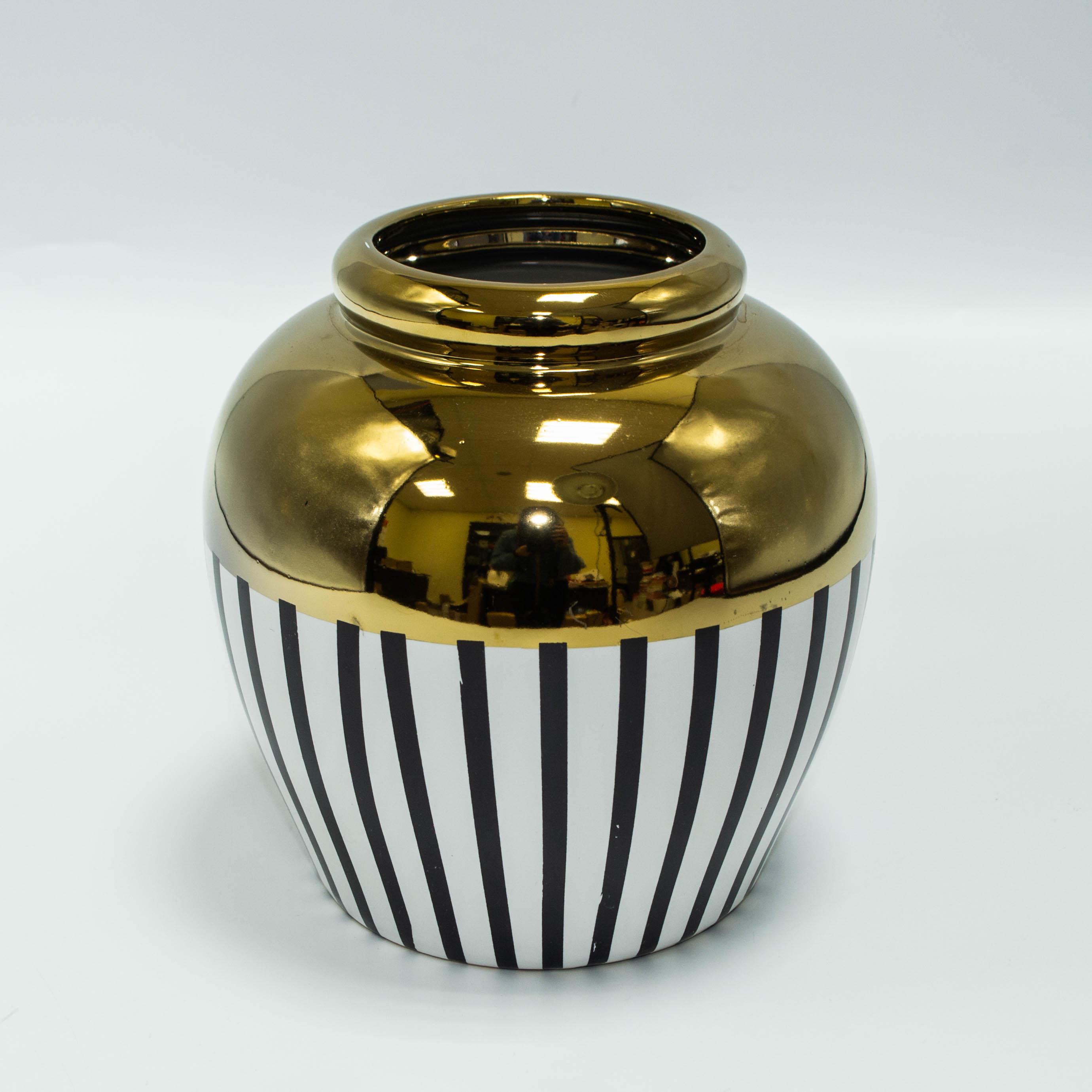 Ваза керамическая 19см 8041 тм12