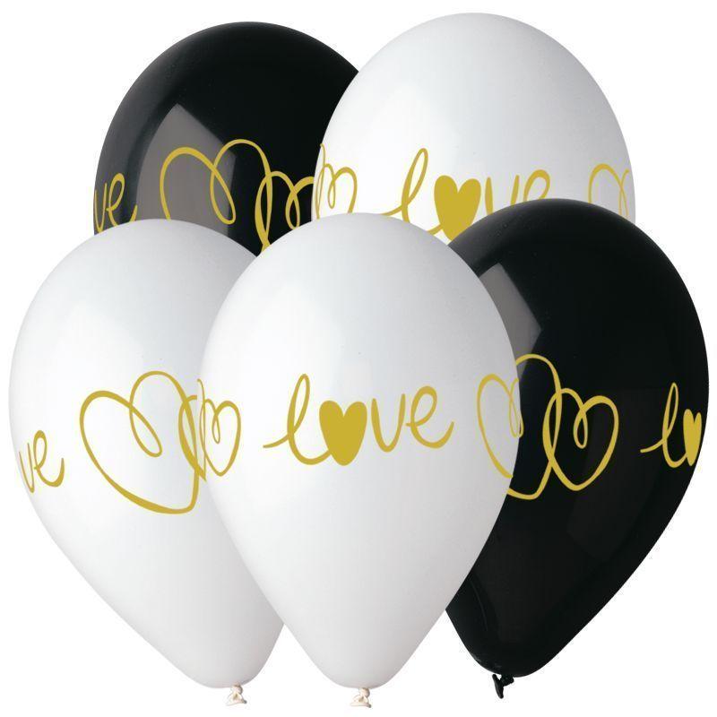 И 14 Любовь. 4 ст. Ассорти Пастель / Golden love and heart / 25 шт. /
