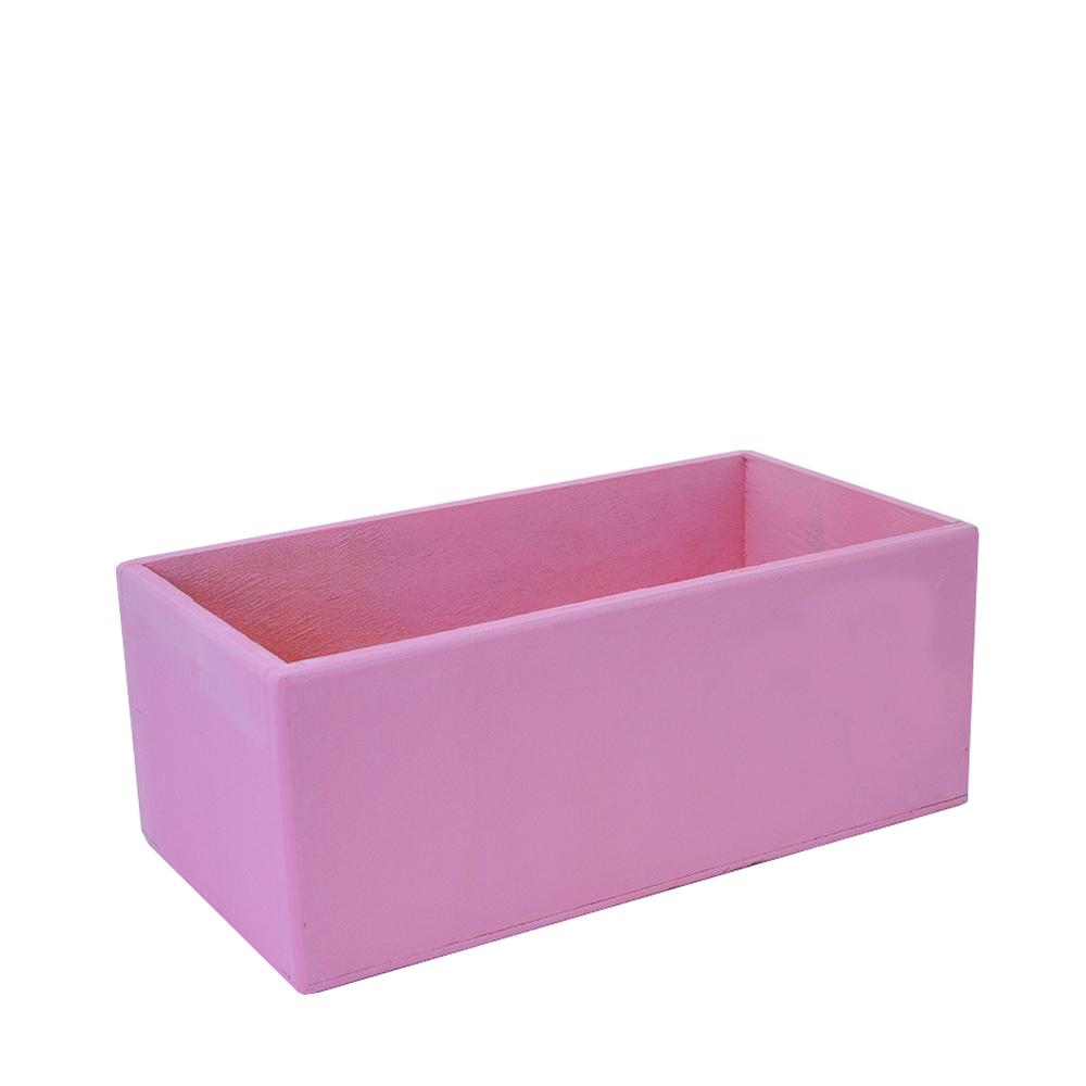 А Ящик 25*15*10 розовый