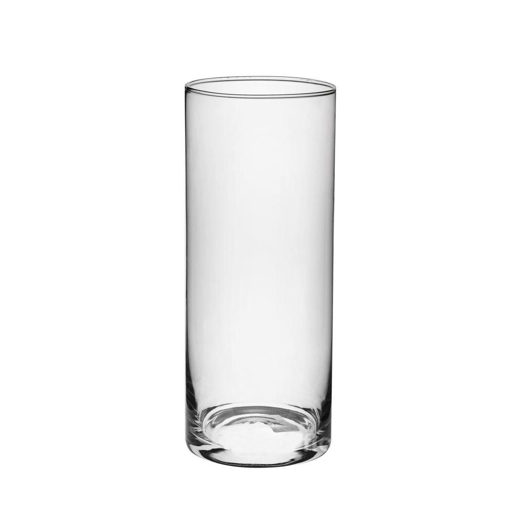 Ваза Трубка 107 (стекло) D10.7*H25см