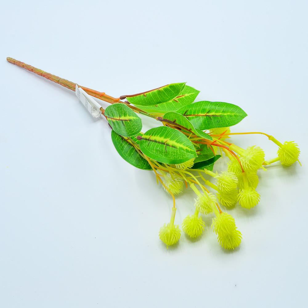 Ветка зелени цвет МИКС 37см