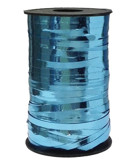 Лента металлик Голубой 5мм*250м