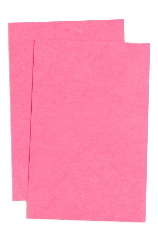 Фетр жесткий Розовый1 мм (10 листов) SF-1943 №020
