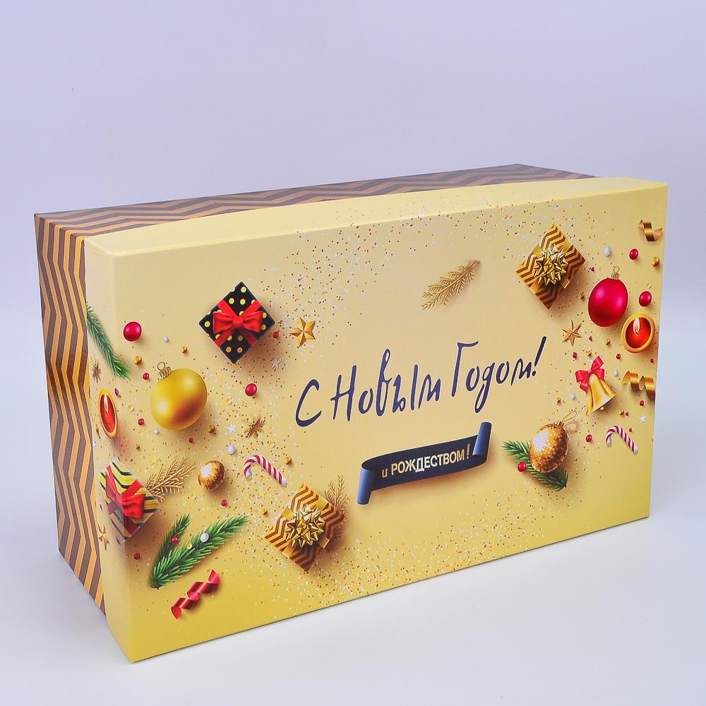 Набор коробок С Новым годом и Рождеством! №103 32*19.5*12.5/27.5*18*11.5/25.5*16.5*10.5см 3шт