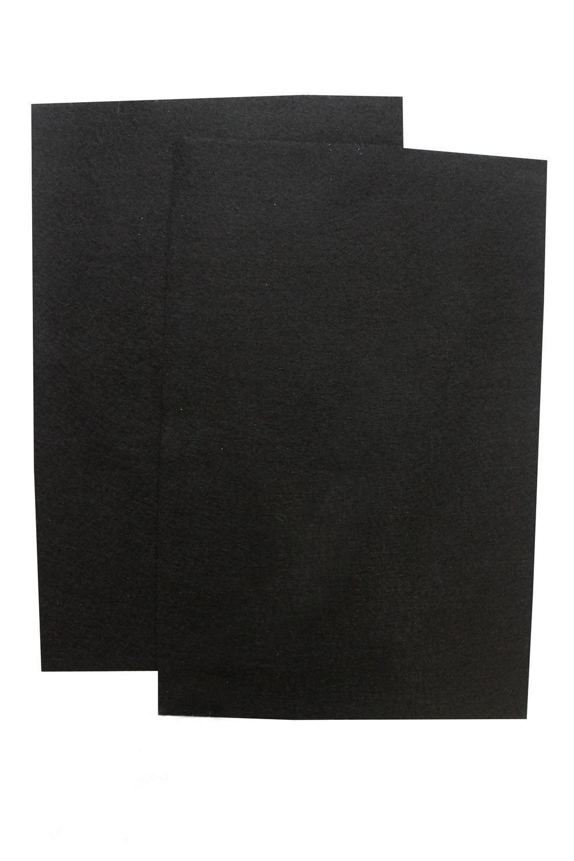 Фетр мягкий Чёрный 1 мм (10 листов) SF-1945 №043/020