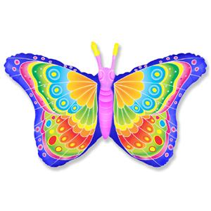 Бабочка кокетка Фуше мини