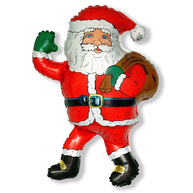 Дед Мороз с мешком мини