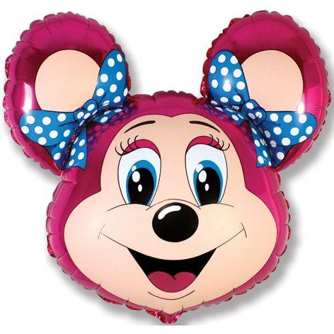 Лолли-мышонок (фуксия) мини