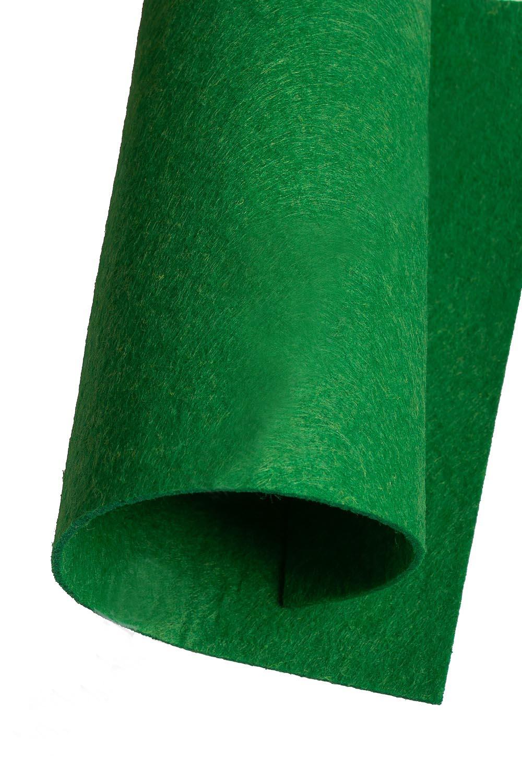 Фетр жесткий Зелёный 2 мм (10 листов) SF-1944 №313