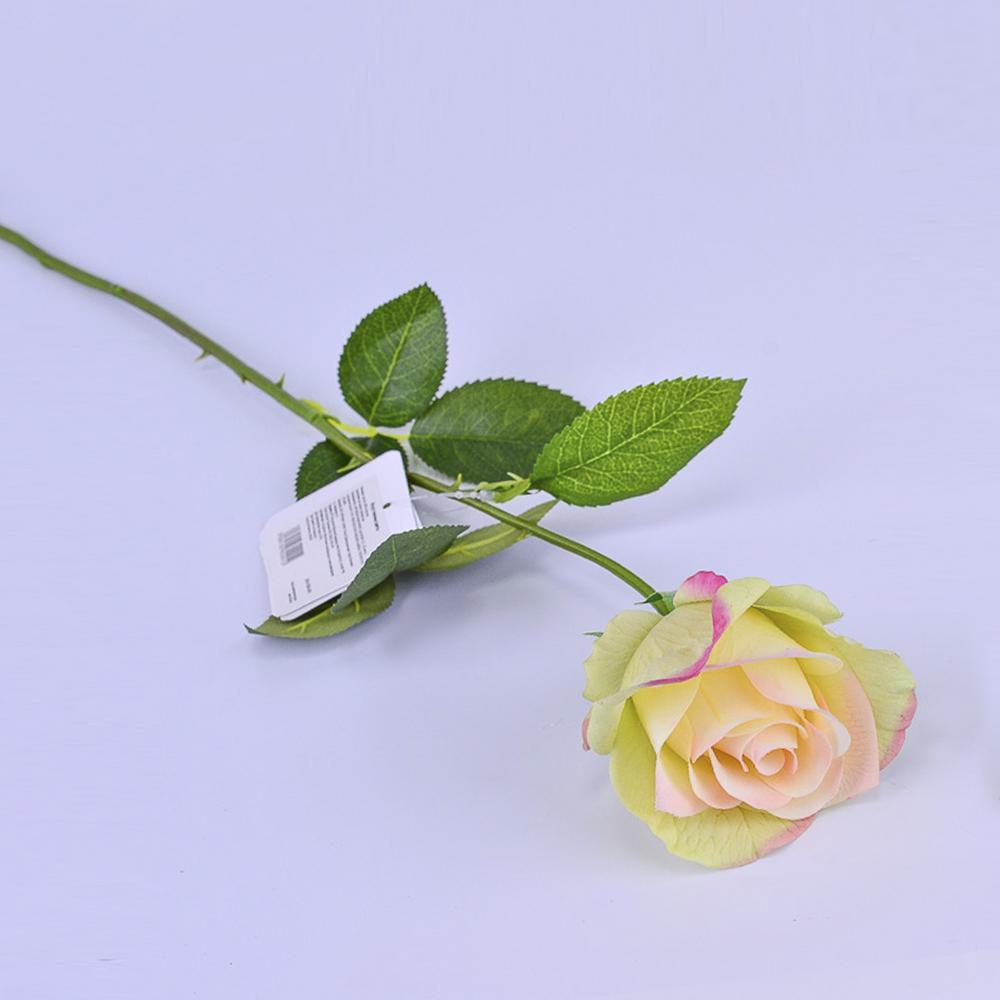 Искусственные цветы Роза Чайная 65см