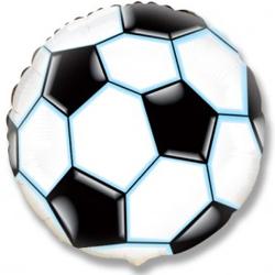 Футбольный мяч Черный Фигура