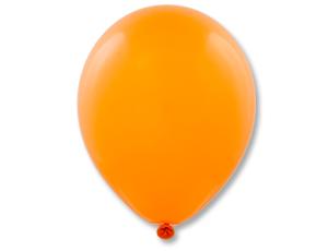 Шар (12/30 см) Пастель Металлик Orange 25шт Е
