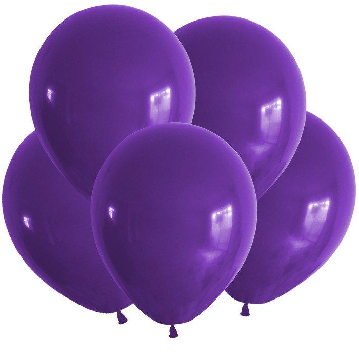 Шар (12/30 см) Пастель Фиолетовый 100 шт ВП