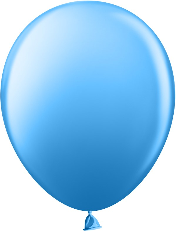 Шар (10''/25 см) Синий пастель 100 шт