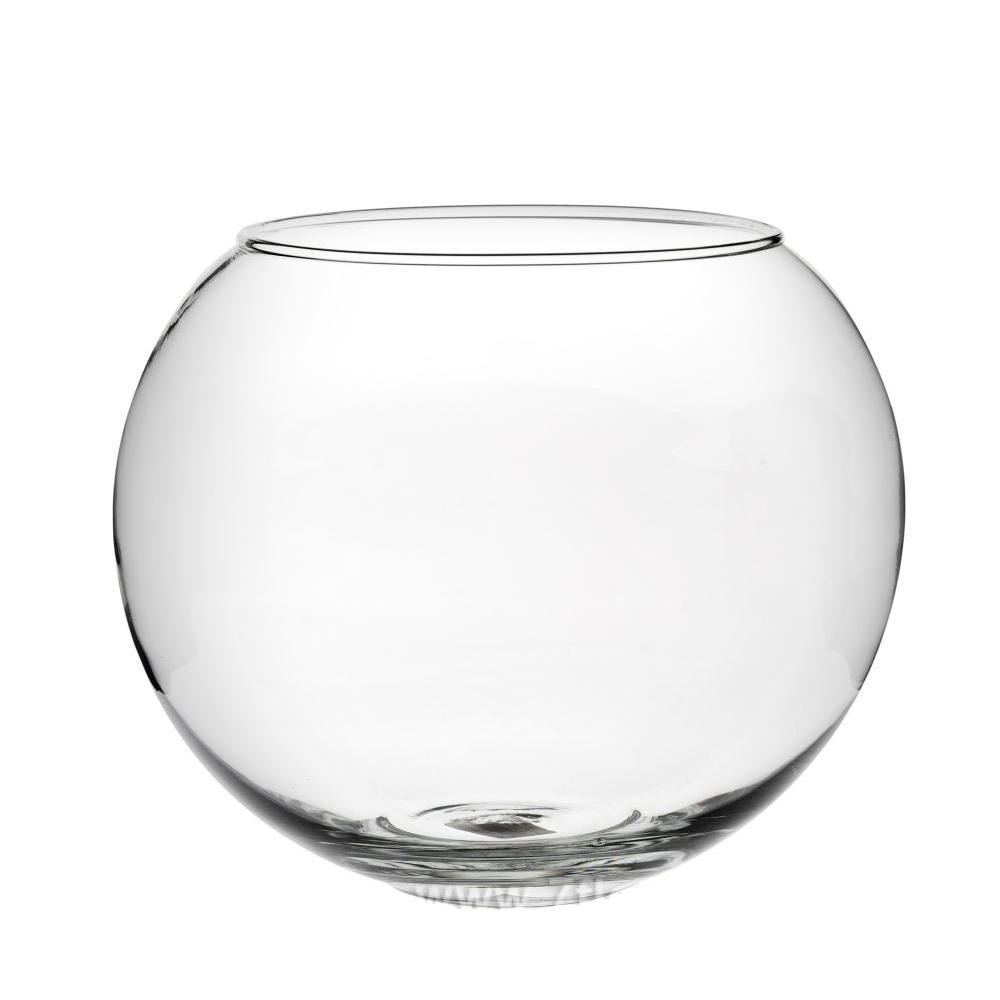 Ваза Шаровая 1 л (стекло) D10*H10см
