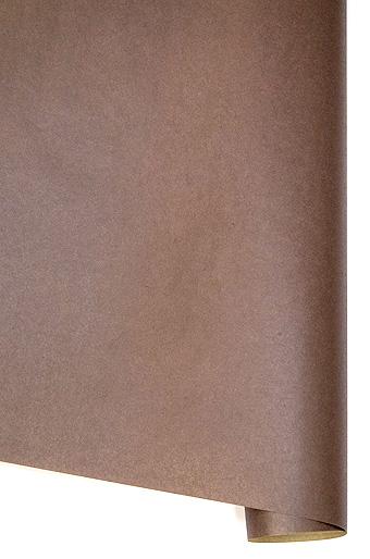 Бумага крафт 100*70см Однотонная Шоколад РК 203/015