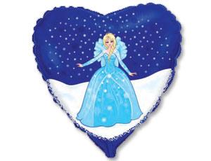 FM 18 Сердце Принцесса в синем сердце
