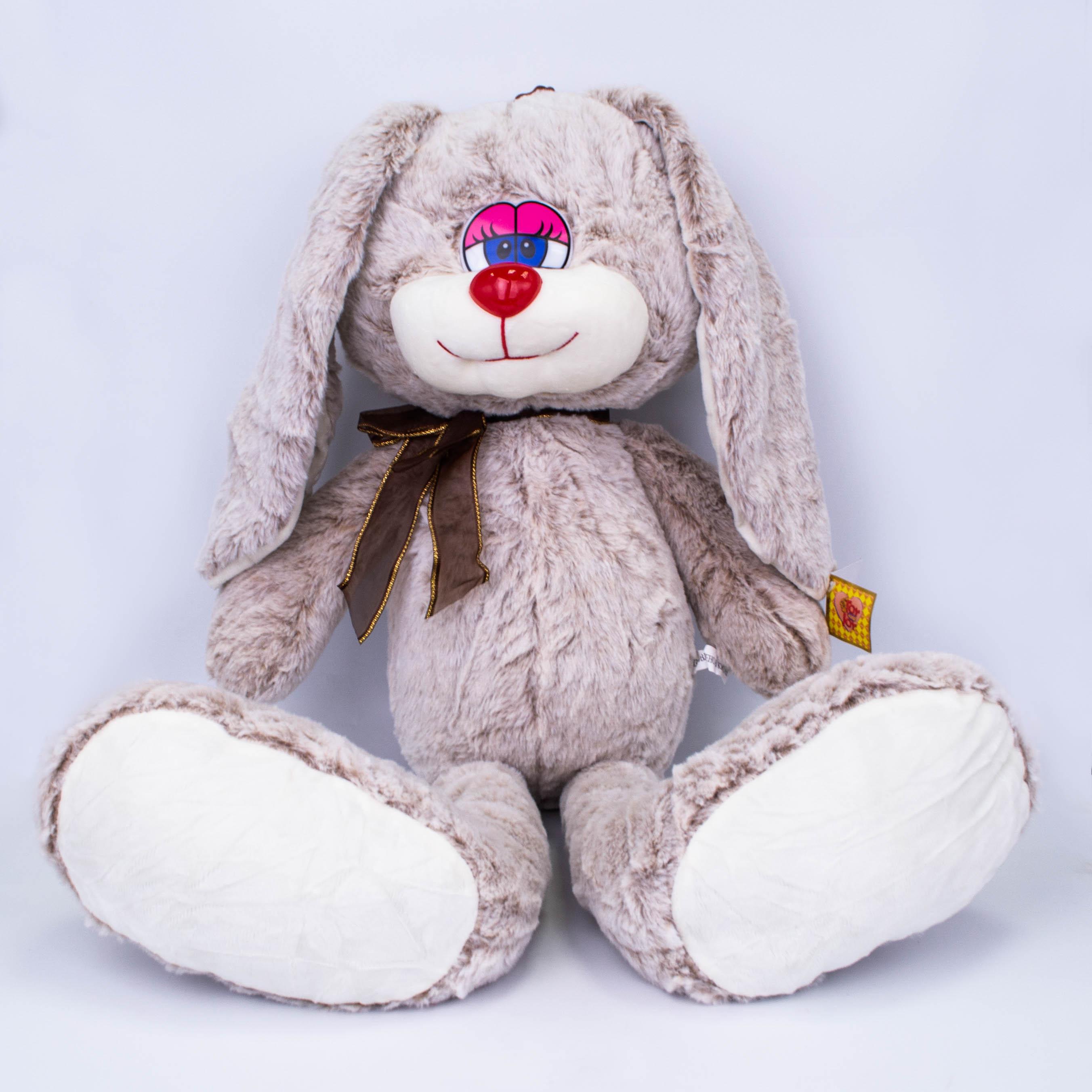 Кролик с бантом 42см