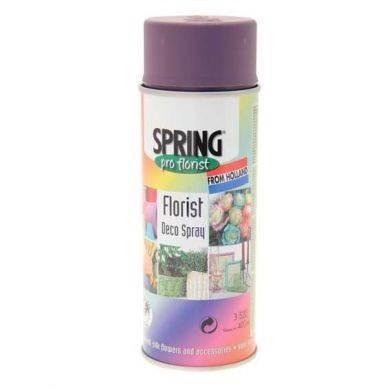 Краска-спрей для цветов 400 мл Spring Про флорист вишневый