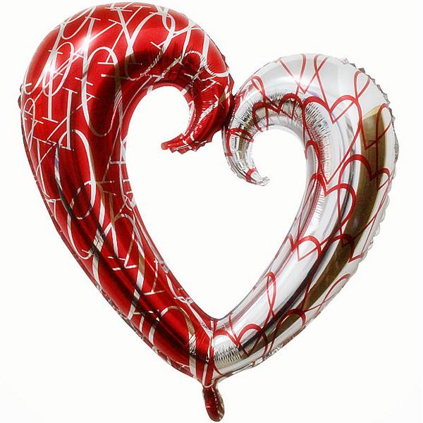 Фигура Сердце вензель двухцвет P35 Anagram