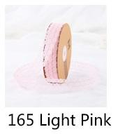 Лента кружево 3,0cм*35ярд, цвет розовый