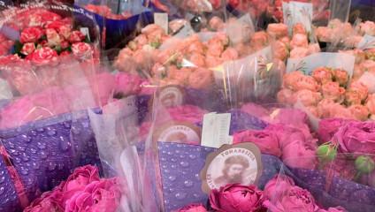 Хризантема от 23,87 ₽ , Rosa MIX KE 35 cm 19,87 ₽, 40 cm 26,87 ₽