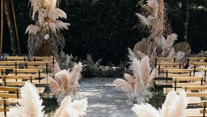 Свадьба из сухоцветов The wedding from dried flowers