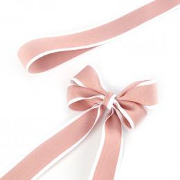 Лента рапсовая 2,5cм*25ярд, цвет пион