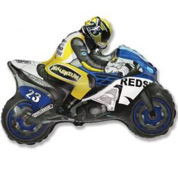 Мотоцикл (синий) мини