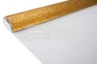 Бумага гофрированная металл. 140гр 917 антично-золотая