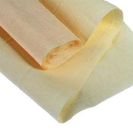 Бумага гофрированная простая. 140гр 977 лимонно-кремовая